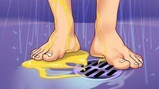 انظر ماذا يحدث عندما تتبول أثناء الاستحمام ؟ 7 عادات سيئة ولكنها مفيدة !!
