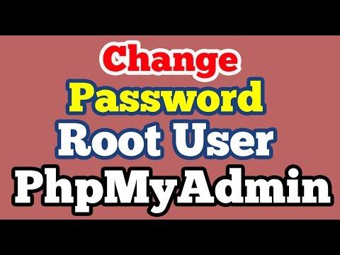 Change password of Root user in Mysql PhpMyAdmin on Xampp