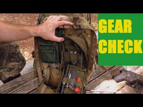 Survival Camping - Florida Bushcraft Pre-Trip Gear Check August 2016