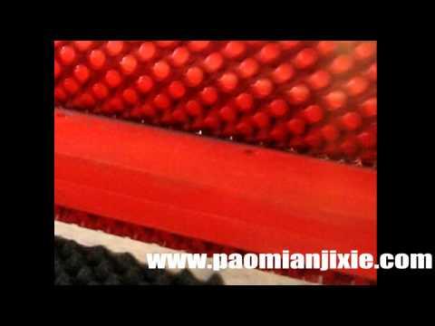 Pyramid Foam cutting machine