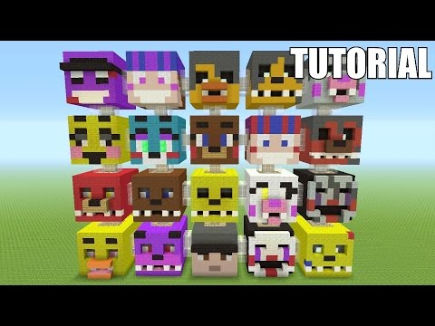 Minecraft Tutorial: How To Make A FIVE NIGHTS AT FREDDY'S!! Survival House/Apartment PART 3 (ASH#45)