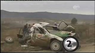 WRC Top 10 Spectacular Crashes - Part 4 / 4