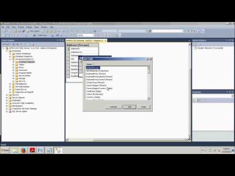 SQL Server Tutorial 12: Creating database diagrams using SSMS