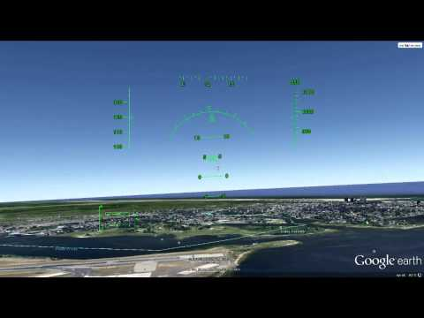 how to fly in google earth flight simulator