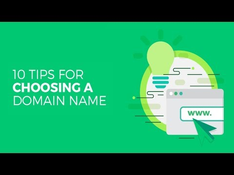 Top 10 Tips on How to Choose a Great Domain Name