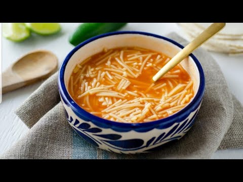 How to make mexican Sopa de Fideo