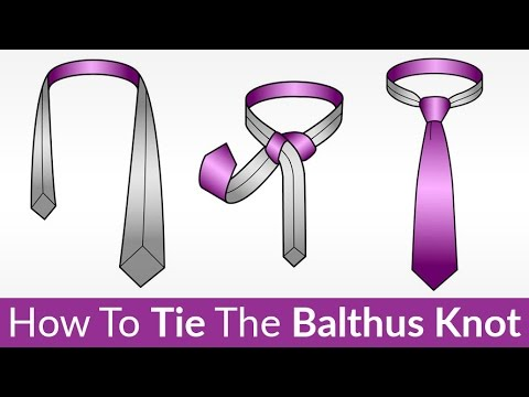 Balthus Knot - How To Tie | EASILY Tying This Unique Casual Knot | Tie-A-Tie Video Tutorial
