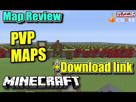 MINECRAFT - PS3 - PVP GAMES MAP REVIEW + DOWNLOAD LINK ( PS4 )  SERVER UPDATE