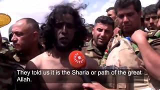 Peshmerga arrest isis fighter, look what he says!