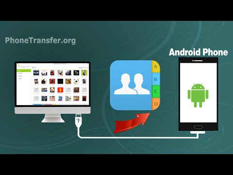 How to Sync Contacts from Mac to Android Phone, Import Contacts to Android Device on Mac