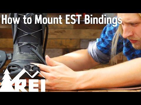 Snowboarding: How to Mount EST Bindings