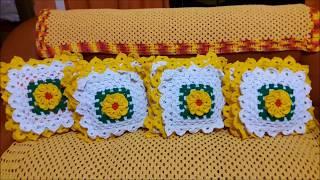 capas de almofadas de crochê   mais lindas que eu fisso