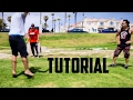 How to do a Cart-Front Flip Step Out (cartwheel frontflip tutorial) Sam Tribble