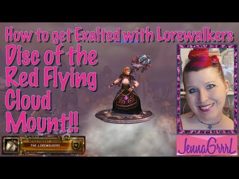 How to get the Disc of the Red Flying Cloud mount in WoW!! | World of Warcraft