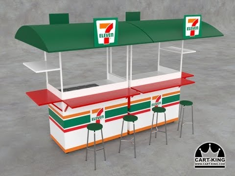 Beverage Carts, Stands | Concession Kiosks by Cart-King