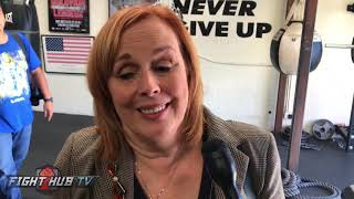 """Kathy Duva """"Refs job is to enforce rules, Weeks didnt enforce rules! Some places there is corruption"""