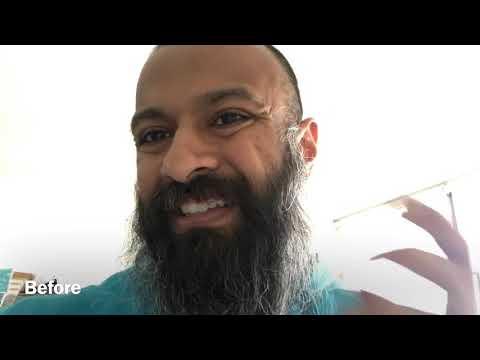 Beard styling for long curly or wavy beard hair #beardupdate