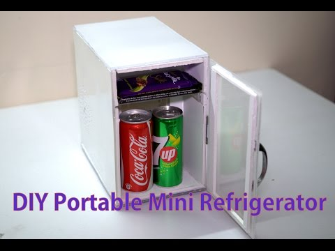 DIY Portable Mini Refrigirator