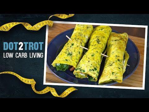 Keto BLT Sandwich Egg Wraps