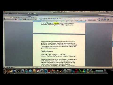 A Quick Review Of Office Mac 2011