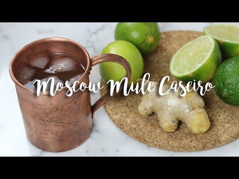 MOSCOW MULE CASEIRO #HappyHourÉdeComer