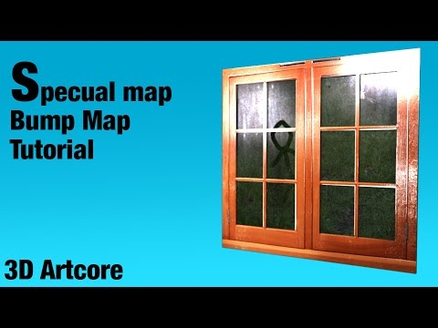 Bump map and Specular Map Tutorial