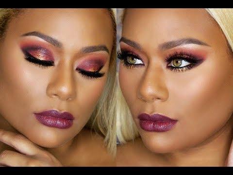 Dramatic Fall Makeup Using OPV Beauty