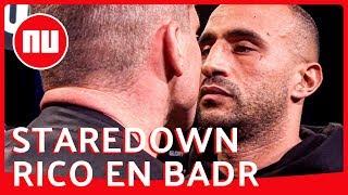 Kemphanen Rico Verhoeven en Badr Hari ruziën op persconferentie | NU.nl