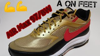 best loved 3ad25 f50e7 AIR Max 97 BW METALLIC GOLD