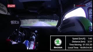 Jan Kopecký ● RZ2 ● Rallye Šumava Klatovy 2018 ● ONBOARD