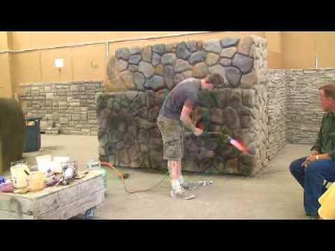 Fake Stone Construction DIY - 3.12 -  888-684-0086
