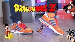buy popular 938f2 1652b Unboxing Dragon Ball Z adidas Goku ZX 500 RM