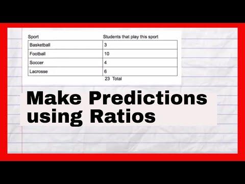 Make predictions using Ratios 2 (7th Grade Math)