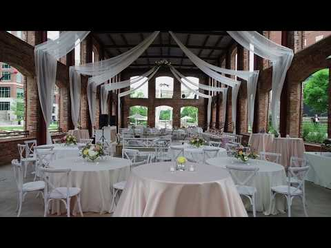 Zach and Chancey's Beautiful Wyche Pavilion Wedding // Greenville, SC Snippet 4