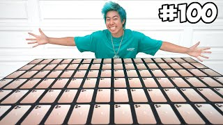 I Customized 100 iPhones, Then Giving Them To People In Need!
