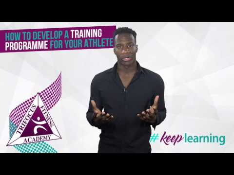 How to develop a training programme for your athlete