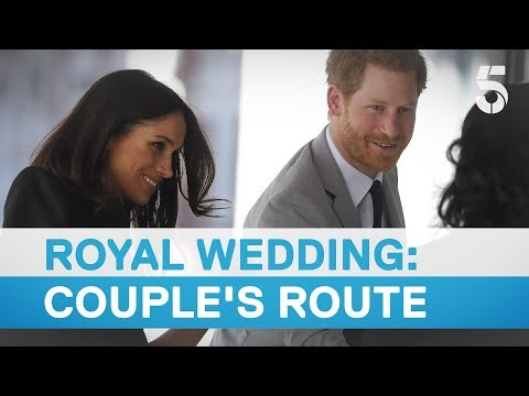 Follow the royal couple's route through Windsor - 5 News