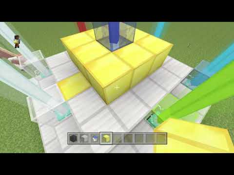 Minecraft PS4:How To Make The Beacon From Minecraft Story Mode!!!!