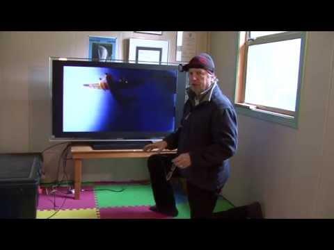 Sony Bravia KDL 46 XBR4 - fix ghosting-taking it apart