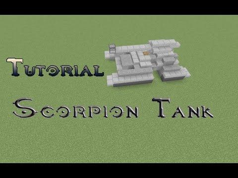 Minecraft-Halo Scorpion Tank Tutorial