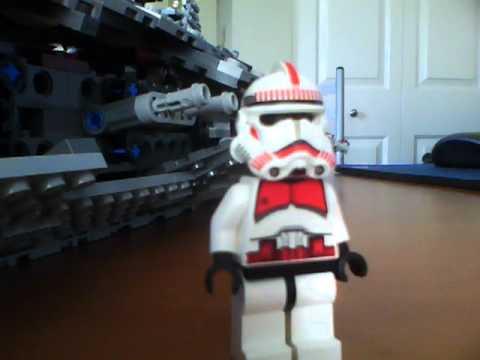 Lego Star Wars How to make a 91st elite gunner