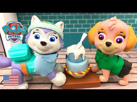 Paw Patrol Full Episodes Skye and Everest Bake a Pokemon Birthday Cake Surprise