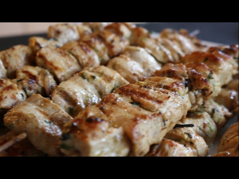 Mexican Chicken Skewers BBQ Pinchos De Pollo