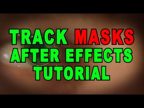 Track Masks After Effects Tutorial
