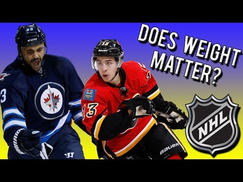 Does Weight Matter In Hockey | Fattest NHL Players VS Skinniest NHL Players | NHL 18