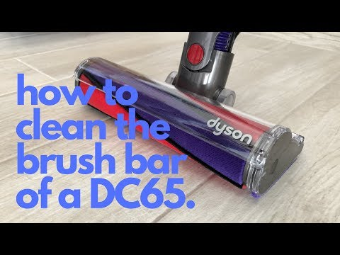 Dyson DC65 - How To Remove And Clean The Brush Bar.