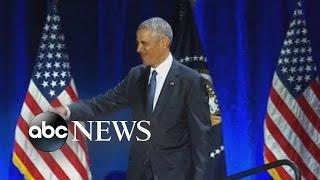 Obama Farewell Speech Soundtrack