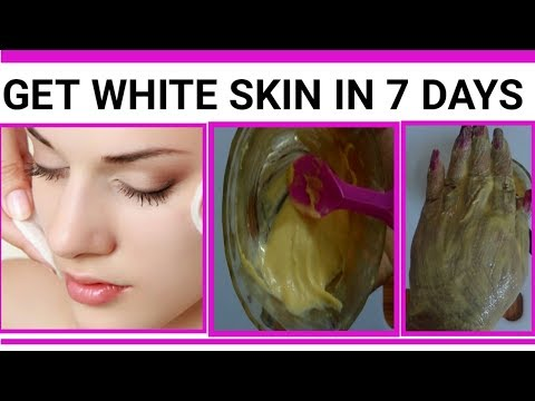 How To  Get White Skin In 7 Days Naturally At Home ( Natural Remedy for Whiten Skin)