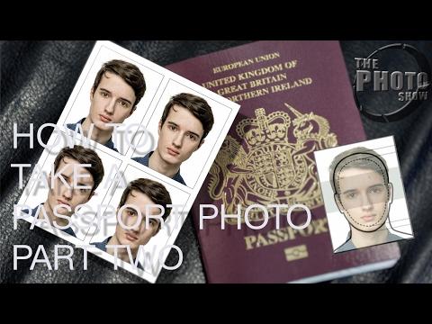 How To Take A Passport Photo Part 2: Preparing & Printing