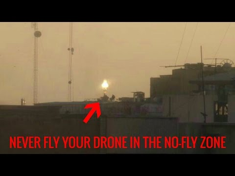 THIS IS WHAT HAPPENS WHEN YOU FLY YOUR DRONE IN THE NO-FLY ZONE